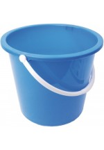 2 gallon round plastic bucket
