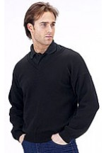 Acrylic sweater v/n black