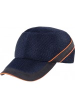 Air coltan Impact-Resistant Baseball Style Bump Cap Navy Blue-Black