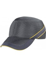 Air coltan Impact-Resistant Baseball Style Bump Cap Light Grey-Dark Grey