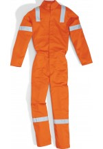 BORCO WORKING OVERALL Orange