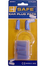 B-safe ear plugs 3/pack