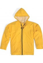 850 Mixed Polyurethane-Coated Polyester Support Rain Suit Yellow