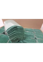 Green 1 Ply C Fold Paper Hand Towels 2520