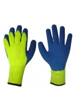 Latex coldstar glove s/yellow