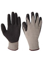 M/p black latex p/c glove