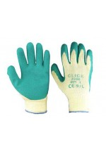 M/p green latex p/c glove
