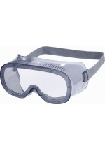 Muria1 Clear Polycarbonate Goggles - Direct Ventilation