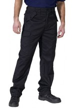Click pc combat trousers black