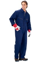 Click quilted b/suit navy