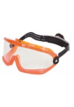 Saba Clear Polycarbonate Goggles - Rotor® System