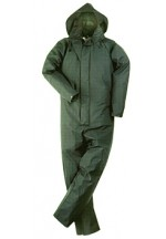 Trans/coat coverall olive