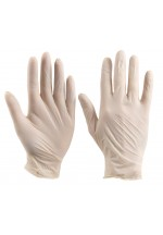 Vinyl disp gloves clear